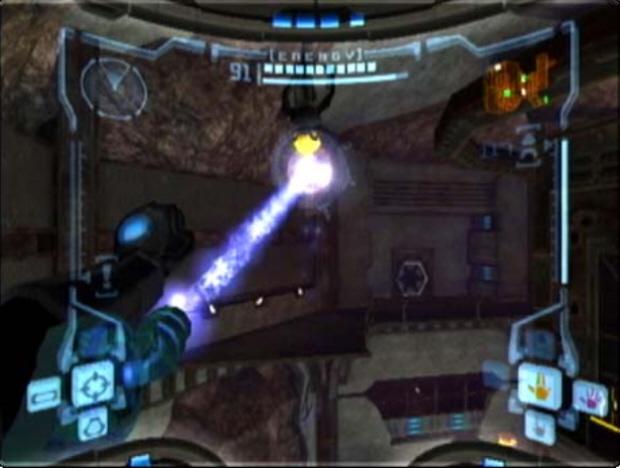 Grappling Beam Metroid Prime Screenshot