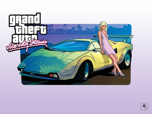 GTA Vice City Stories wallpaper girl