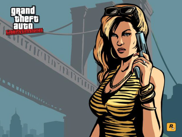 GTA Liberty City Stories wallpaper girl