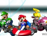 Mario Kart Wii Peach-Luigi wallpaper