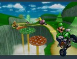 Mario Kart Wii wallpaper artwork