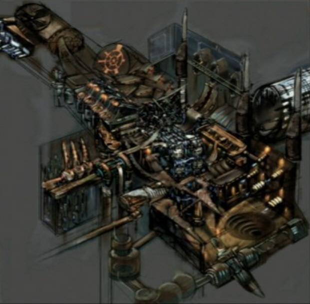 Metroid Prime level concept art. Intense, eh?
