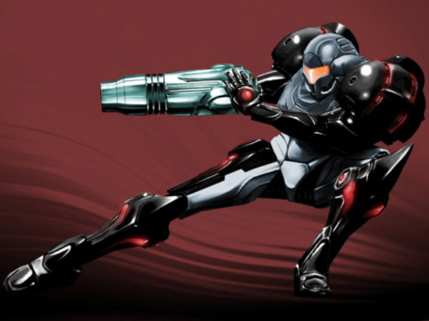 Phazon Suit Samus Metroid Prime Artwork