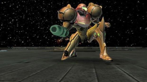 Samus Metroid Prime Screenshot (Cool Pose)