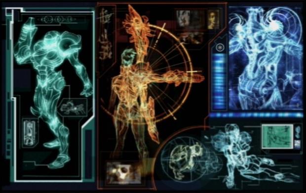 Samus Suit Artwork Design Concept (Metroid Prime). Beat the game to unlock these cool art galleries!