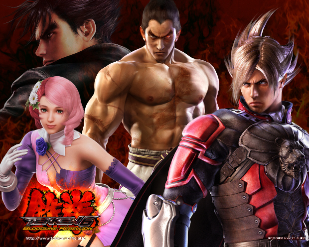 Tekken 6 Wallpaper Cast (Jin, Kazuya, Alisa, Lars) - 1280x1024