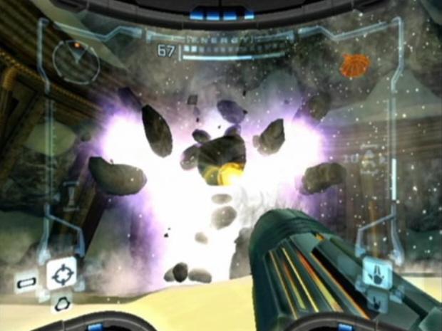 Thardus Metroid Prime Boss Screenshot