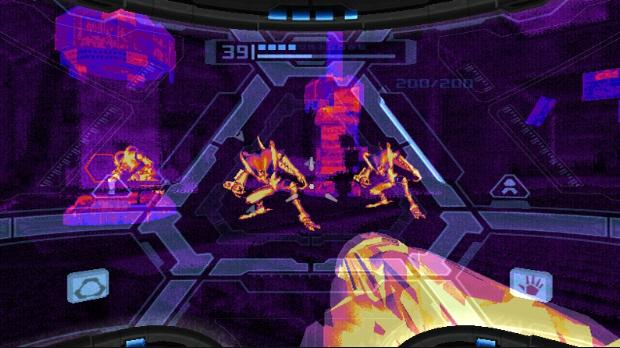 Thermal Visor Metroid Prime Screenshot