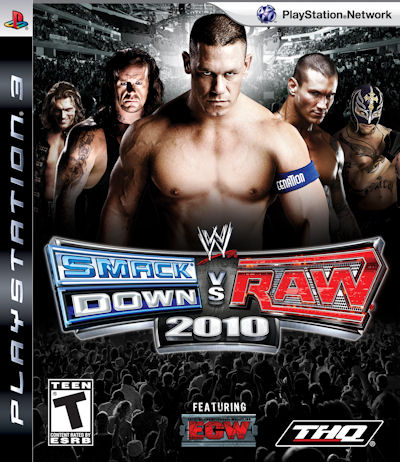 wwe raw roster. WWE SmackDown VS Raw 2010 for
