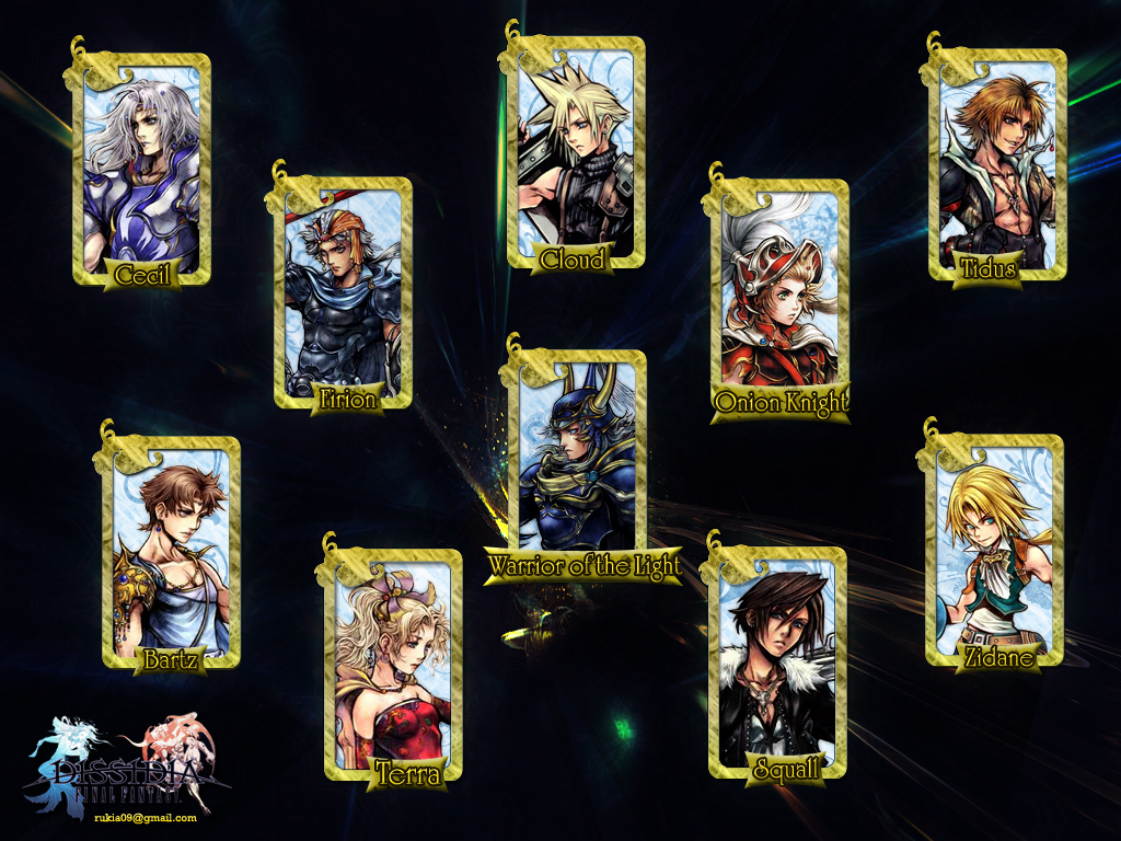 Final Fantasy Dissidia wallpaper