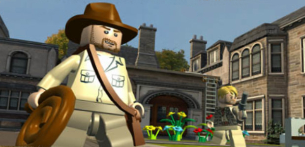 Lego Indiana Jones 2 characters screenshot