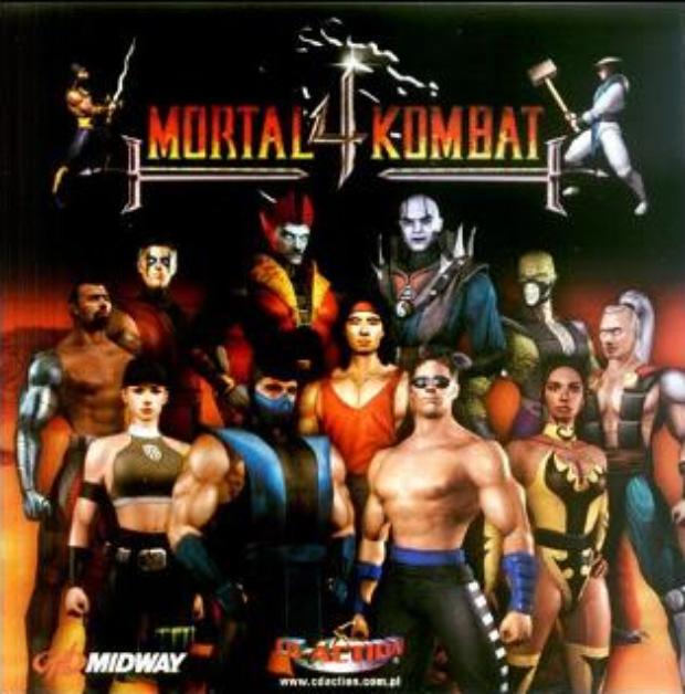 Mortal Kombat 4 characters artwork