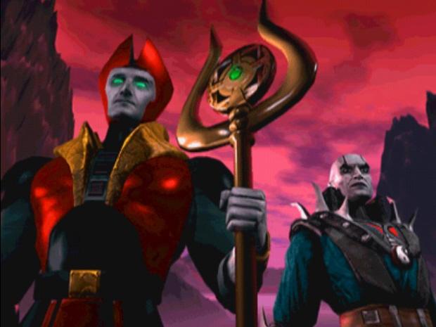 Mortal Kombat 4 wallpaper Shinnok Quan Chi