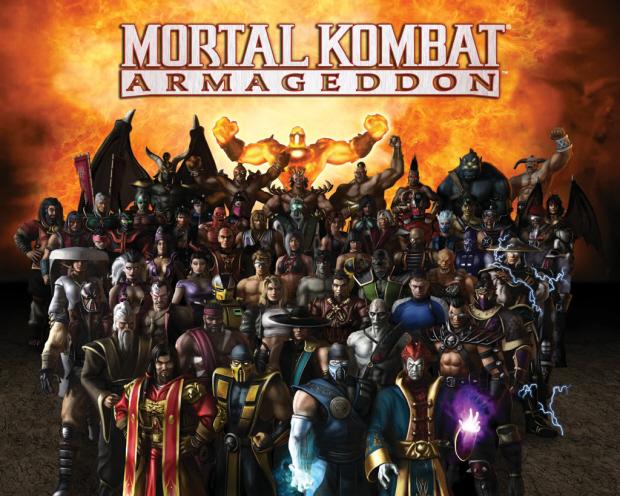 Mortal Kombat Armageddon characters wallpaper