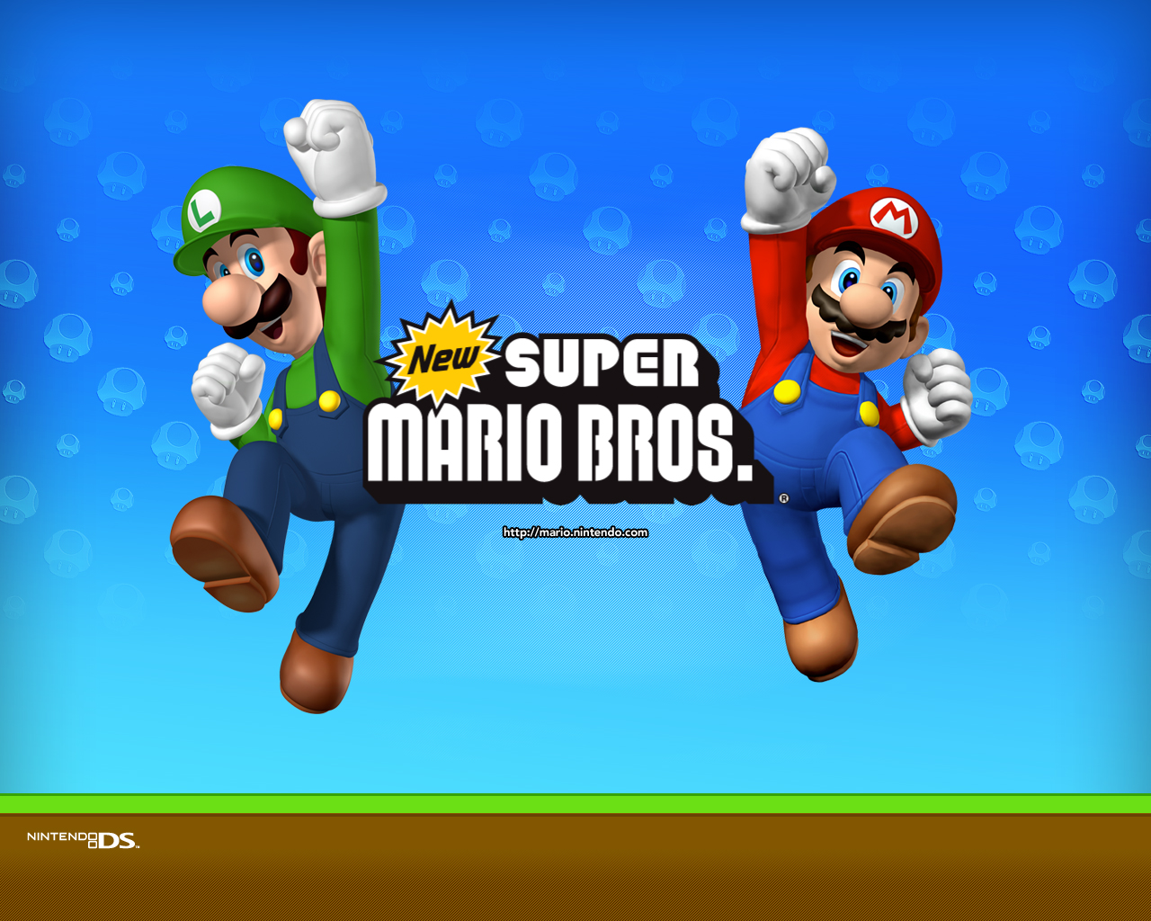 New Super Mario Bros wallpaper (DS)