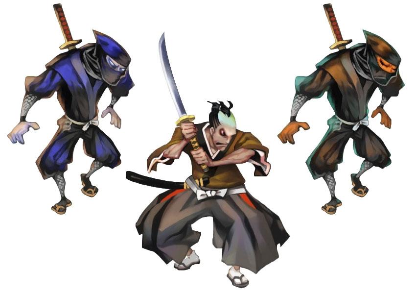 samurai ninja games