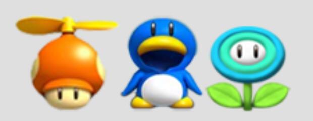 Power-Ups New Super Mario Bros Wii artwork