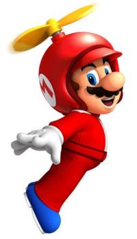 Propeller Suit New Super Mario Bros Wii artwork