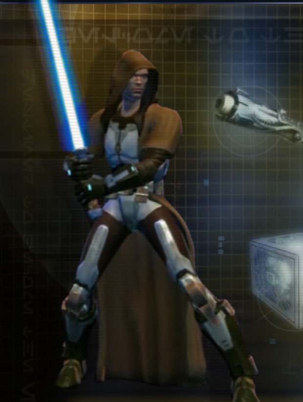 jedi knight wallpaper. Star Wars: The Old Republic Jedi Knight Class