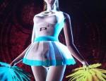 Cheerleader Bayonetta screenshot