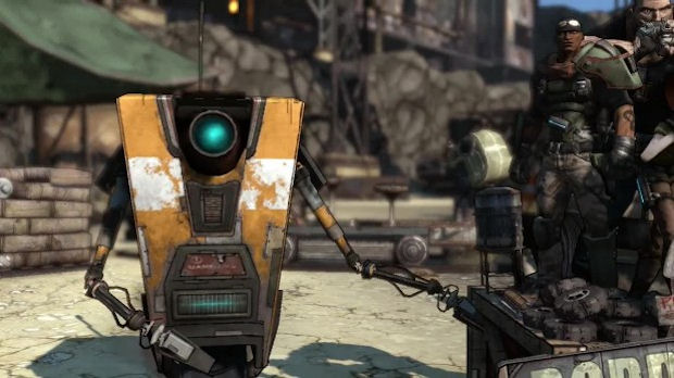 Borderlands - PS3, Xbox 360, PC Borderlands-claptrap-locations-guide-logo
