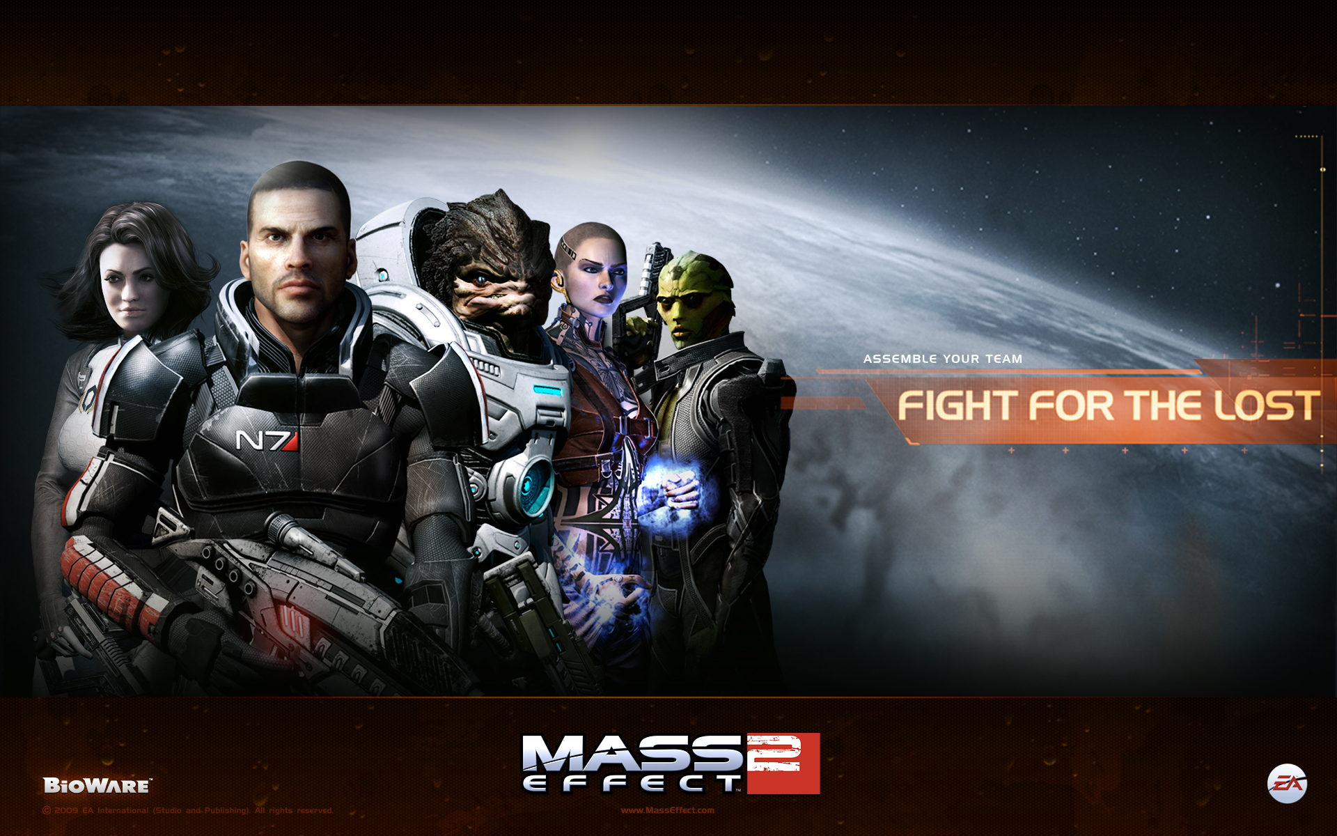Mass Effect 2 wallpaper