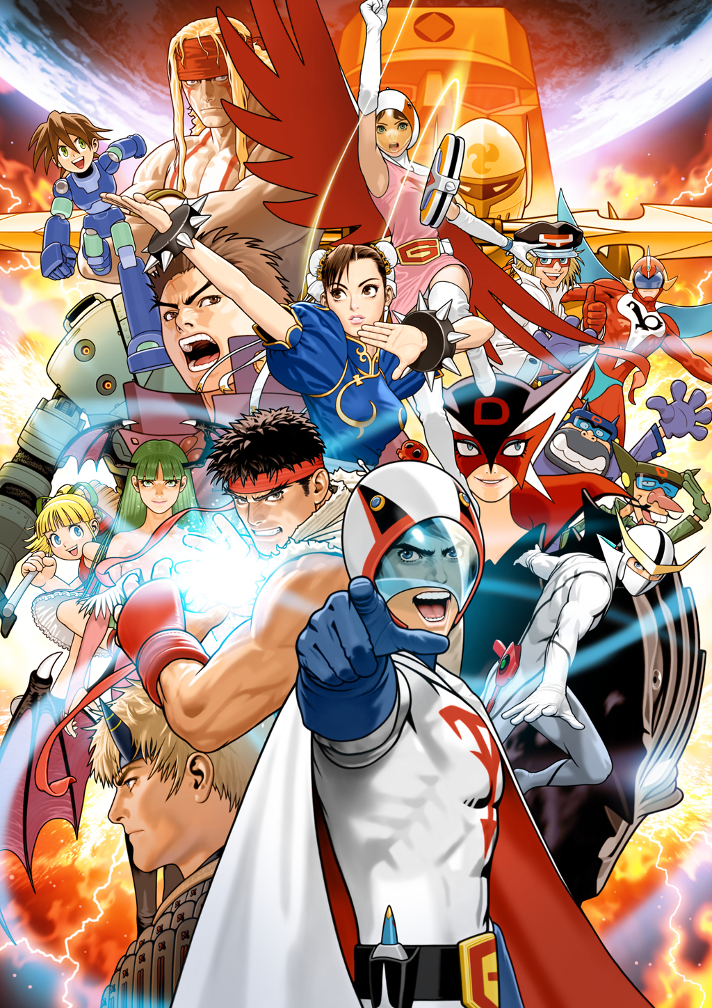 Tatsunoko VS Capcom wallpaper