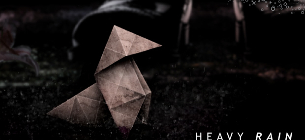 Heavy Rain Origami Killer artwork for the PS3 walkthrough