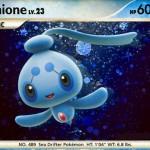 Phione Legendary Pokemon artwork