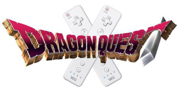 wii 2 logo. Dragon Quest X Wii logo.