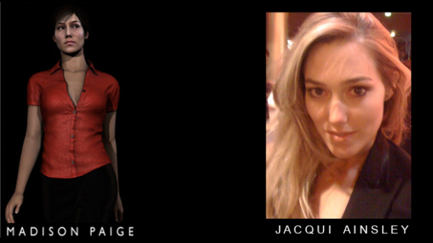 Madison Paige played by Jacqui Ainsley in Heavy Rain