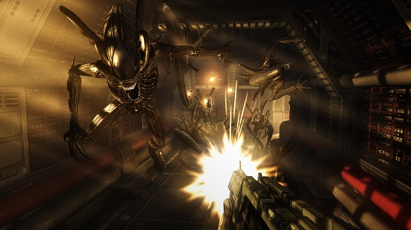 alien vs predator wallpaper. Aliens VS Predator Swarm map