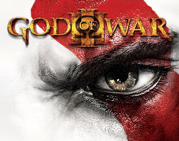 God of War 3 walkthrough logo Kratos eye