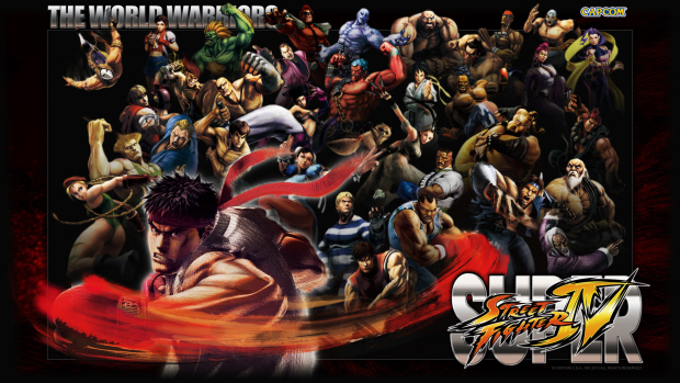 street fighter wallpaper. Super Street Fighter 4 is fast