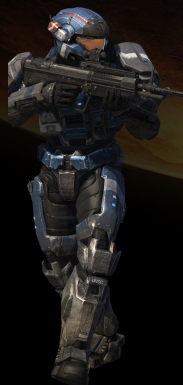 Official Halo Reach characters list