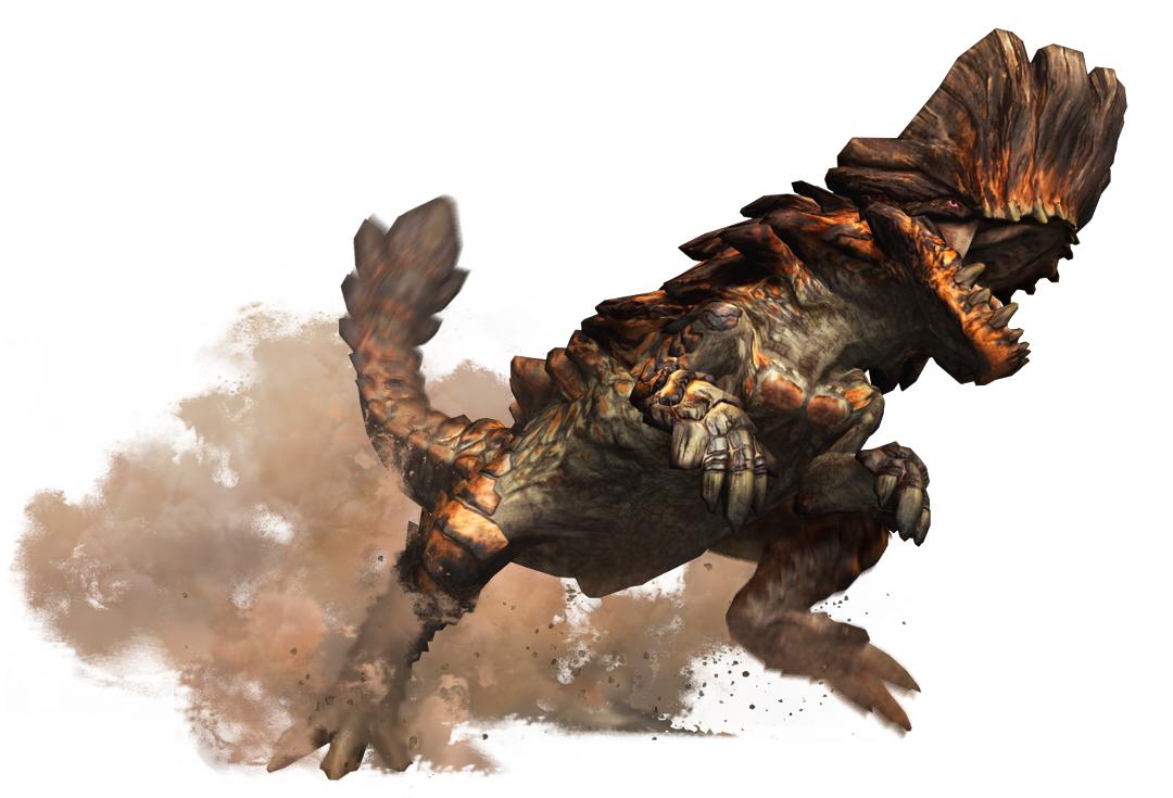 liste des grands monstre de monster hunter tri Monster-hunter-tri-barroth-artwork