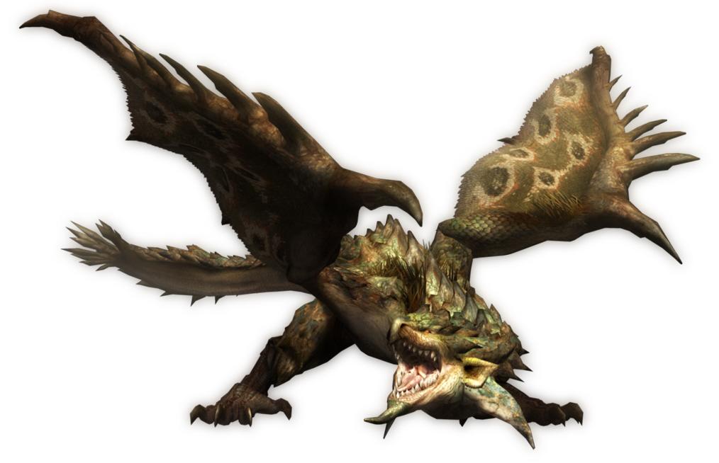liste des grands monstre de monster hunter tri Monster-hunter-tri-rathian-artwork