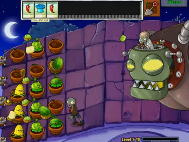 plants vs zombies plants. Plants VS Zombies walkthrough