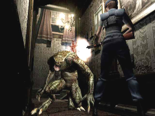 Resident Evil GameCube remake walkthrough screenshot