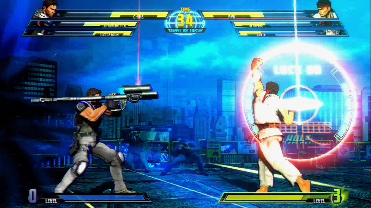 Ultimate Marvel vs. Capcom 3 Characters - 213.5KB