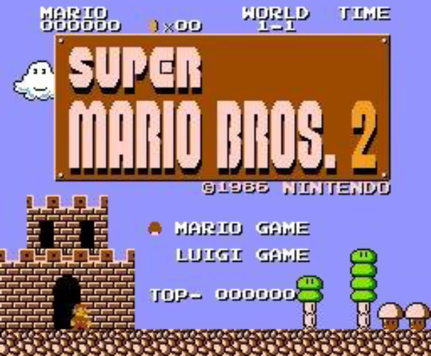 Super Mario Bros The Lost Levels walkthrough screenshot