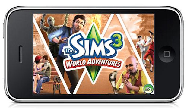 the sims 3 world adventures released on the iphone and. Black Bedroom Furniture Sets. Home Design Ideas