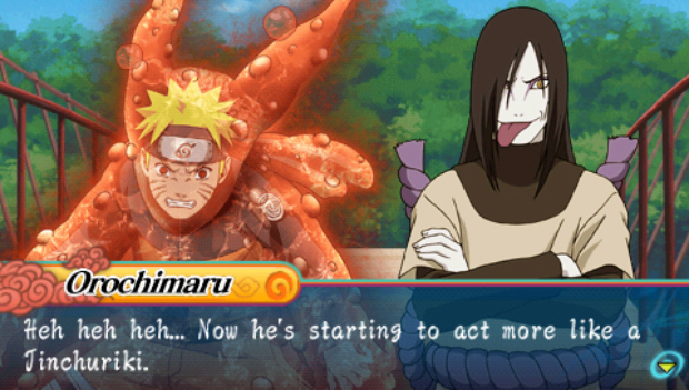 Naruto Shippuden Ultimate Ninja Heroes 3 walkthrough video guide (PSP)