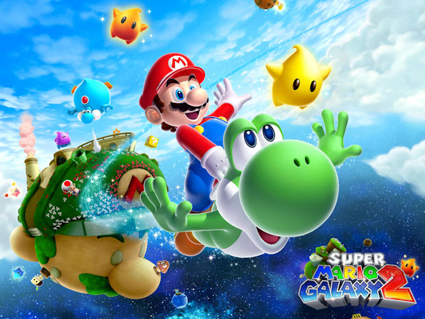 Super Mario Galaxy 2 walkthrough artwork
