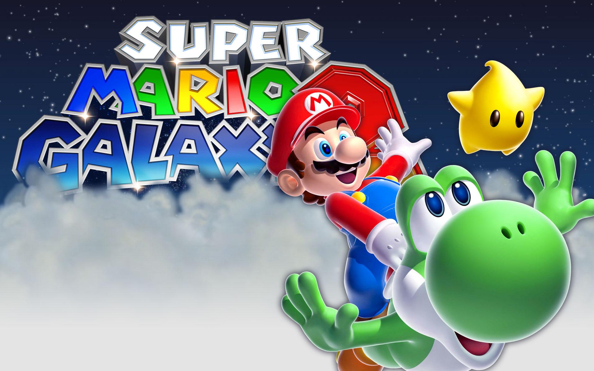 Super Mario Galaxy Wallpaper: Super Mario Galaxy 2 Wallpaper