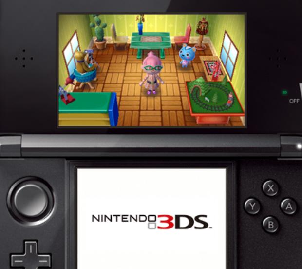 Animal Crossing 3DS screenshot