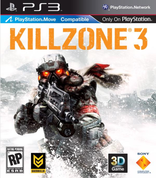 Killzone 3 release date is February 2011. Box artwork
