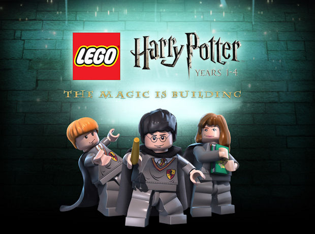 Lego Harry Potter walkthrough artwork