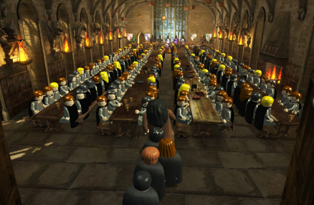 Lego Harry Potter: Years 1-4 characters list screenshot