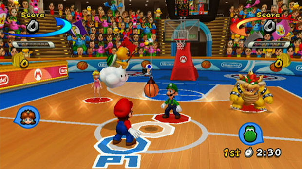 Mario Sports Mix Wii screenshot